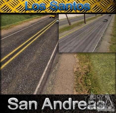 Qualität-Straße in die LS für GTA San Andreas
