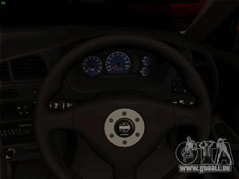 Mitsubishi Lancer Evolution VI für GTA San Andreas Innen