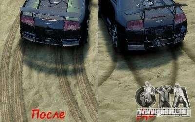 Beats et nouvelles textures pour GTA 4 secondes d'écran