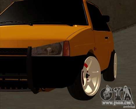 VAZ 2108 (version avec disques blancs) pour GTA San Andreas vue de droite