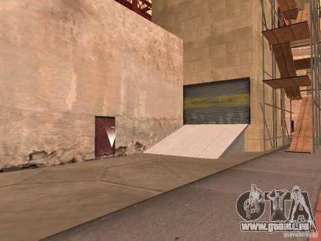 Rot-Aufzug Lift-Brücke-Brücke für GTA San Andreas zweiten Screenshot