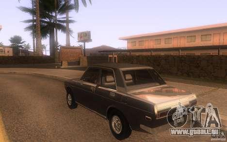 Datsun 510 4doors pour GTA San Andreas sur la vue arrière gauche