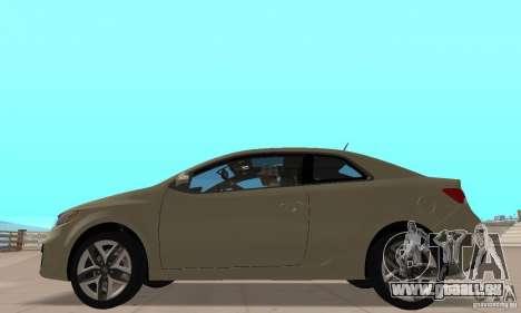 Kia Forte Koup 2010 für GTA San Andreas zurück linke Ansicht
