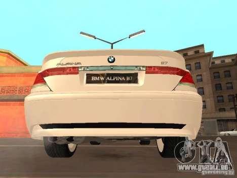 BMW Alpina B7 für GTA San Andreas rechten Ansicht