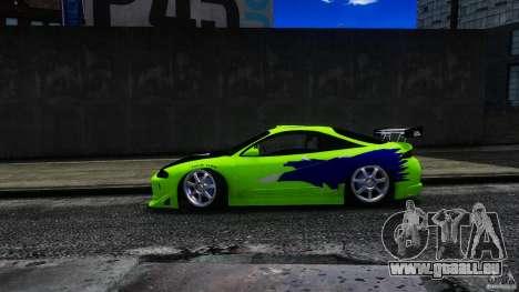 Mitsubishi Eclipse GSX FnF für GTA 4 hinten links Ansicht