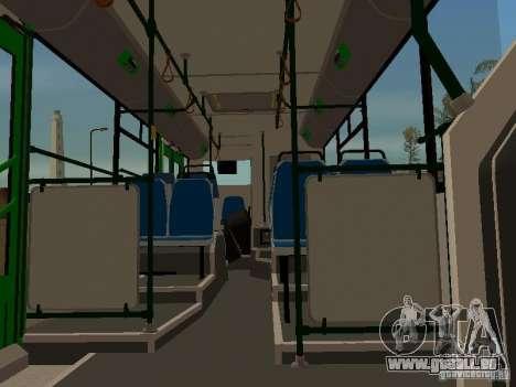 Trailer für Liaz 6213.20 für GTA San Andreas zurück linke Ansicht