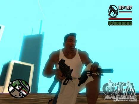 Gangster Weapon Pack pour GTA San Andreas troisième écran