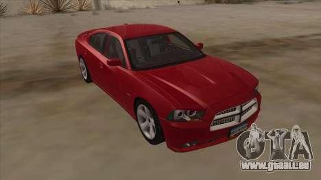 Dodge Charger RT 2011 V1.0 pour GTA San Andreas vue de droite
