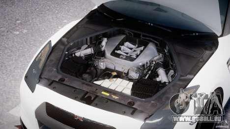 Nissan GTR R35 SpecV v1.0 für GTA 4 Unteransicht