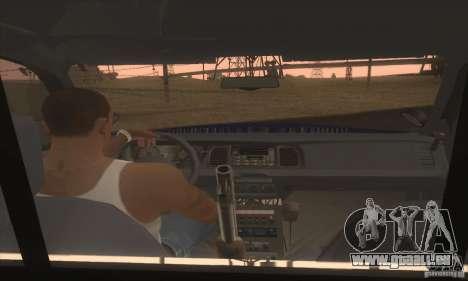 Ford Crown Alabama Police pour GTA San Andreas sur la vue arrière gauche