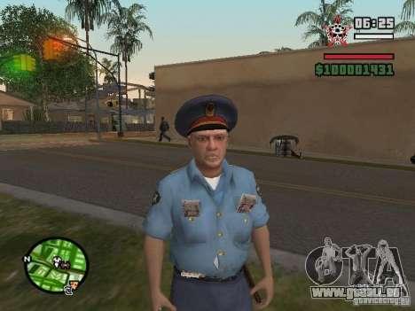 Flics pour GTA San Andreas