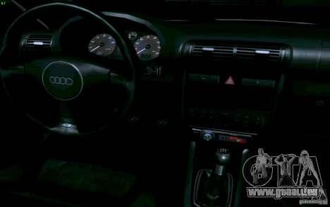 Audi A3 DUB Edition pour GTA San Andreas vue arrière