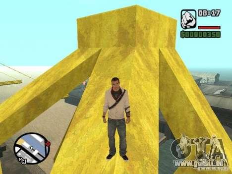 Desmond Miles pour GTA San Andreas quatrième écran