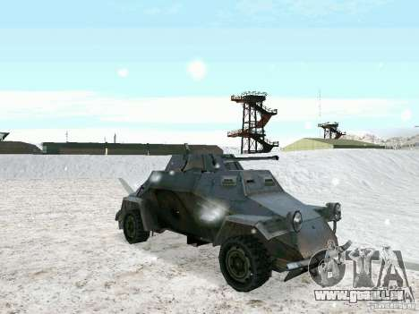Transportpanzer des Spiels hinter den feindliche für GTA San Andreas