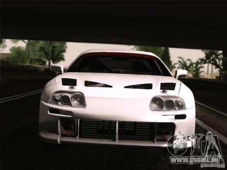 Toyota Supra TRD3000GT v2 für GTA San Andreas Seitenansicht