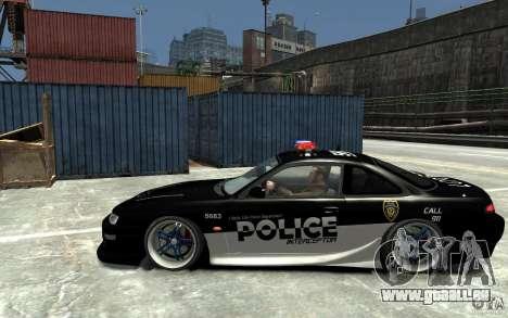 Nissan 200SX Police v0.2 pour GTA 4 est une gauche