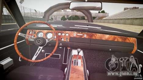 Dodge Charger RT 1969 v1.0 pour GTA 4 vue de dessus