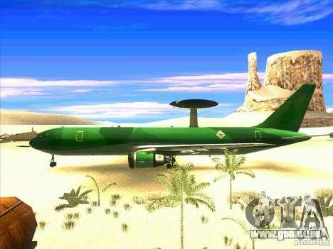 Boeing E-767 pour GTA San Andreas laissé vue