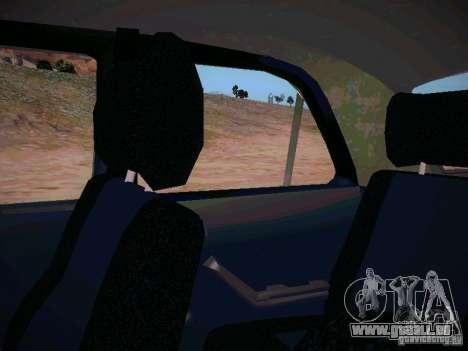 GAZ-31025 pour GTA San Andreas vue de dessus