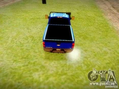 Chevrolet Silverado OFFRoad pour GTA San Andreas sur la vue arrière gauche