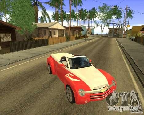 Chevrolet SSR pour GTA San Andreas