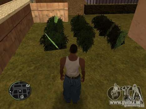 La marijuana v2 pour GTA San Andreas septième écran