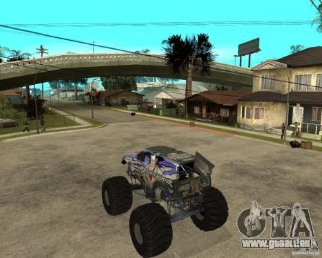 Bounty Hunter pour GTA San Andreas laissé vue
