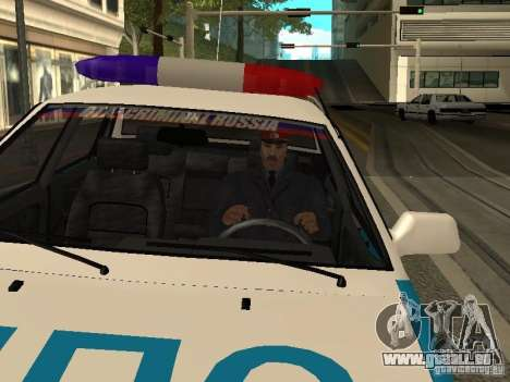 Police de l'URSS pour GTA San Andreas deuxième écran