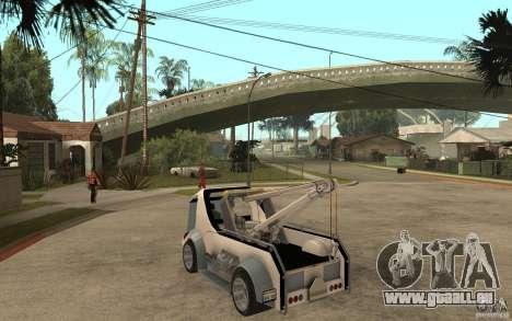 Lil Redd Wrecker pour GTA San Andreas sur la vue arrière gauche