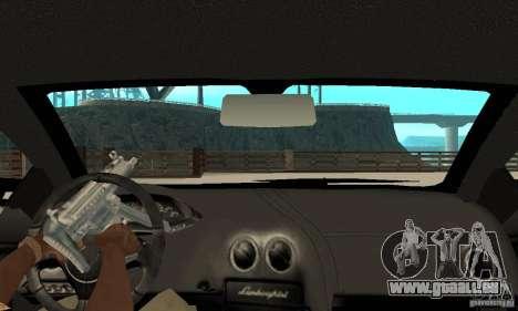 Lamborghini Murcielago Tuned pour GTA San Andreas vue de droite