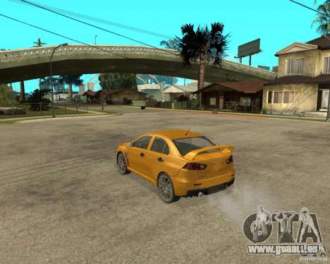 Mitsubishi Lancer Evolution X-Hai-Shark für GTA San Andreas
