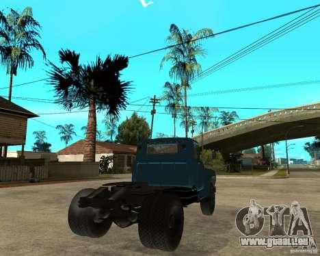ZIL 130B1 pour GTA San Andreas sur la vue arrière gauche