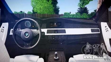 BMW E60 M5 2006 für GTA 4 rechte Ansicht