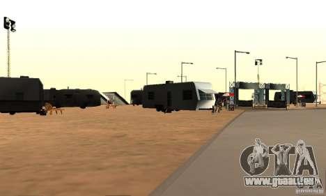 Piste pour la dérive, la grande oreille v1 pour GTA San Andreas troisième écran