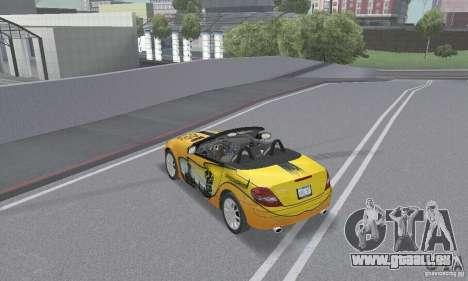 Mercedes-Benz SLK 350 für GTA San Andreas