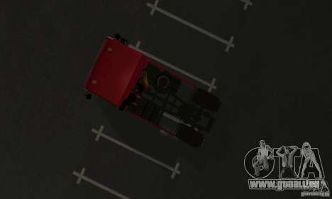 KAMAZ 5460 Haut 1 für GTA San Andreas Rückansicht