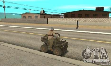 Neue Atv für GTA San Andreas rechten Ansicht