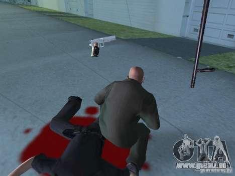Silverballer de Hitman pour GTA San Andreas quatrième écran