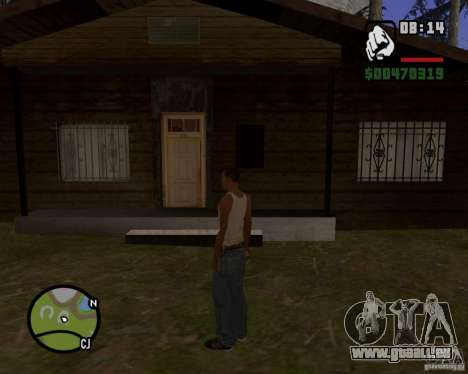 Maison Hunter v 1.0 pour GTA San Andreas