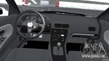Nissan Silvia S13 Non-Grata [Final] pour GTA 4 Vue arrière