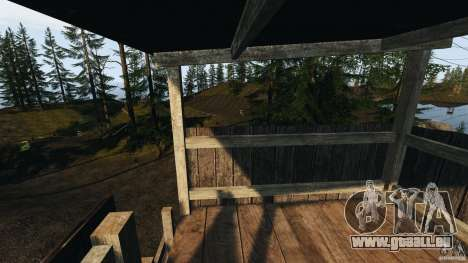 The Loggers Point für GTA 4 achten Screenshot