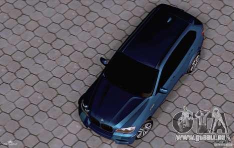 BMW X5M 2013 v1.0 pour GTA San Andreas vue de droite