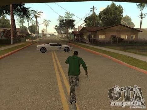 Le script CLEO : Super Car pour GTA San Andreas quatrième écran