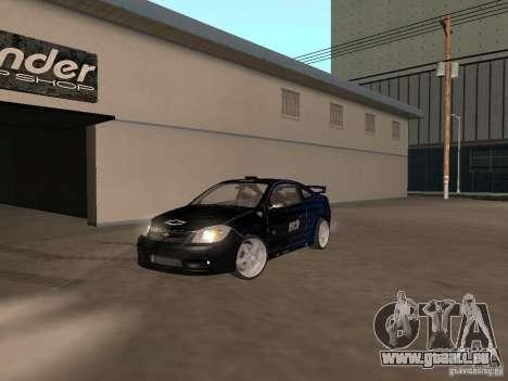 Chevrolet Cobalt Tuning pour GTA San Andreas vue de droite