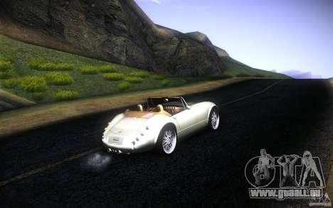 Wiesmann MF3 Roadster für GTA San Andreas Motor