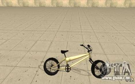 BMX Long für GTA San Andreas linke Ansicht