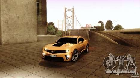 Chevrolet Camaro ZL1 2011 v1.0 pour GTA San Andreas
