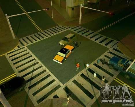 GTA 4 Roads pour GTA San Andreas troisième écran