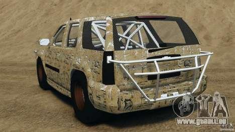 Chevrolet Tahoe 2007 GMT900 korch für GTA 4 hinten links Ansicht