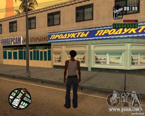 Russian shop für GTA San Andreas zweiten Screenshot